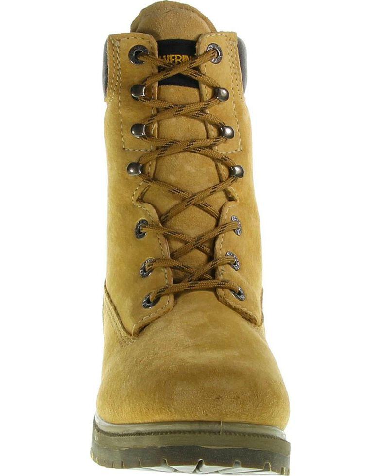"Wolverine Men's Waterproof Insulated 8"" Work Boots, Gold, hi-res"