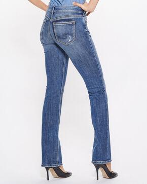 Silver Women's Suki Slim Boot Mid-Rise Jeans, Indigo, hi-res