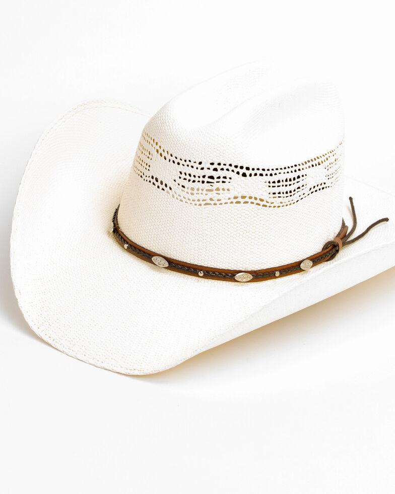 Cody James Men's 20X C51 Low Cattleman Pro Rodeo Bangora Straw Hat, Natural, hi-res