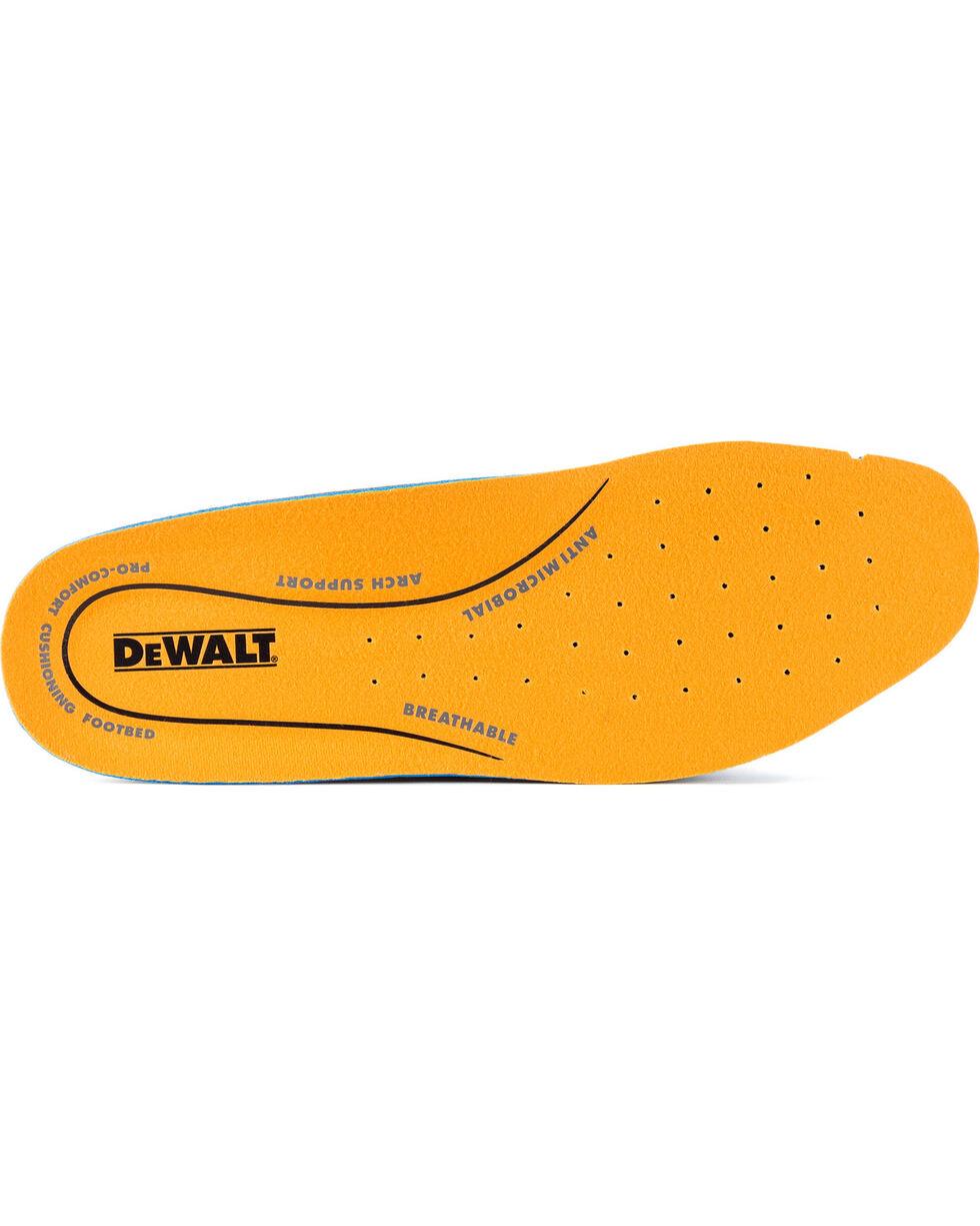 DeWalt Men's Lithium Waterproof Athletic Work Boots - Steel Toe, Red, hi-res