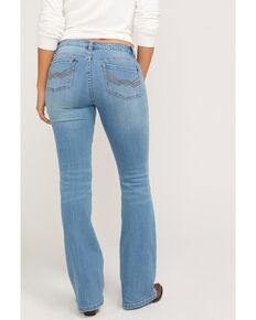 Idyllwind Women's The Rebel Faded Bootcut Jeans, Blue, hi-res