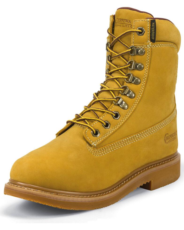 Chippewa Men's Sportility Work Boots, Golden Tan, hi-res