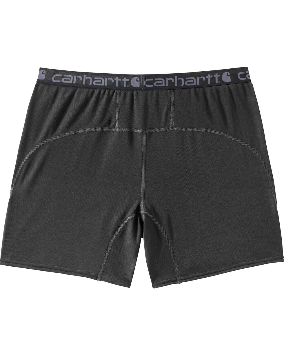 Carhartt Men's Base Force Extremes Lightweight Boxer Briefs - Big, Black, hi-res