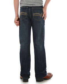Wrangler Retro Boys' Relaxed Boot Alpine Stretch Jeans, Blue, hi-res