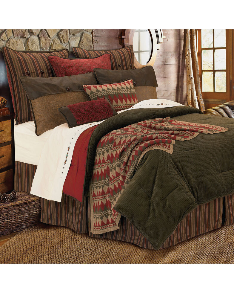 HiEnd Accents Wilderness Ridge Reversible 6-Piece Comforter Set - Super King, Multi, hi-res