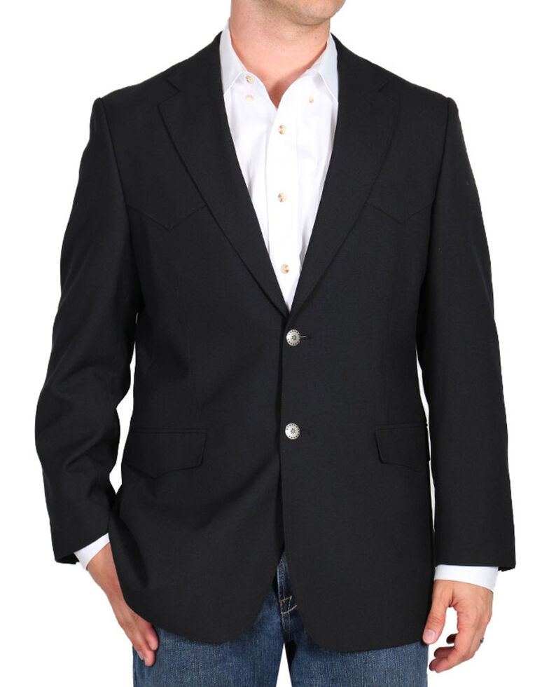 Cody James Men's Sports Coat, Black, hi-res