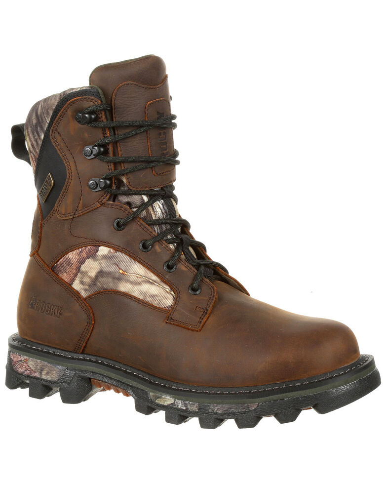 Rocky Men's BearClaw FX Insulated Waterproof Outdoor Boots - Round Toe, Multi, hi-res
