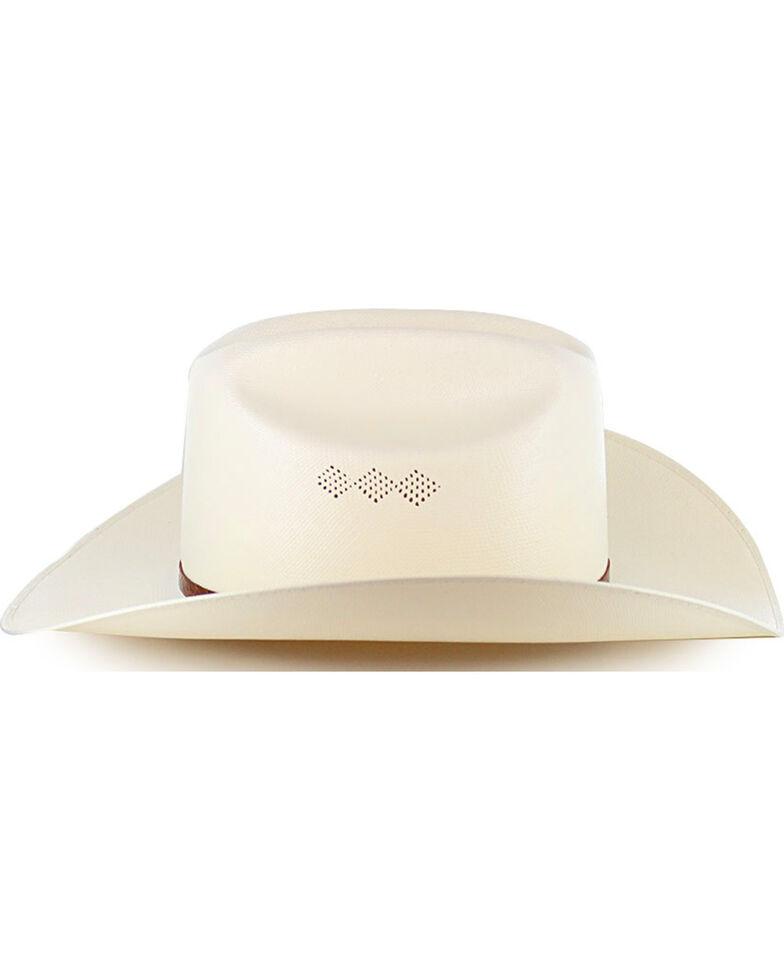 Milano Hat Co. Men's Larry Mahan 15X El Primero Straw Hat, Natural, hi-res