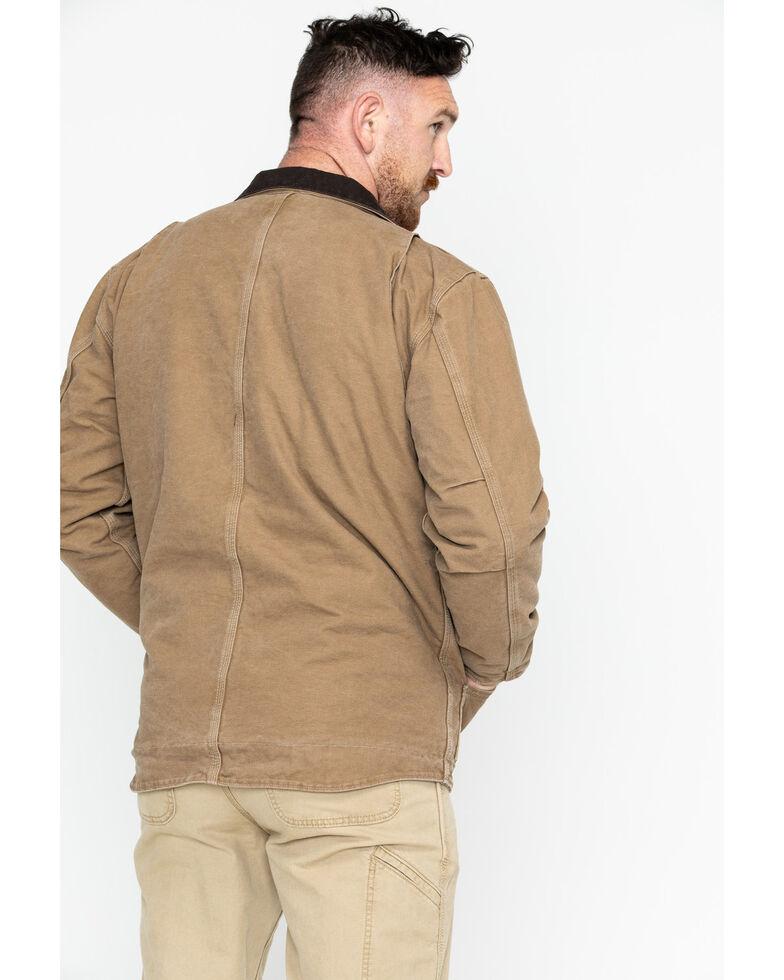 Carhartt Men's Sandstone Ridge Sherpa Lined Jacket, Brown, hi-res