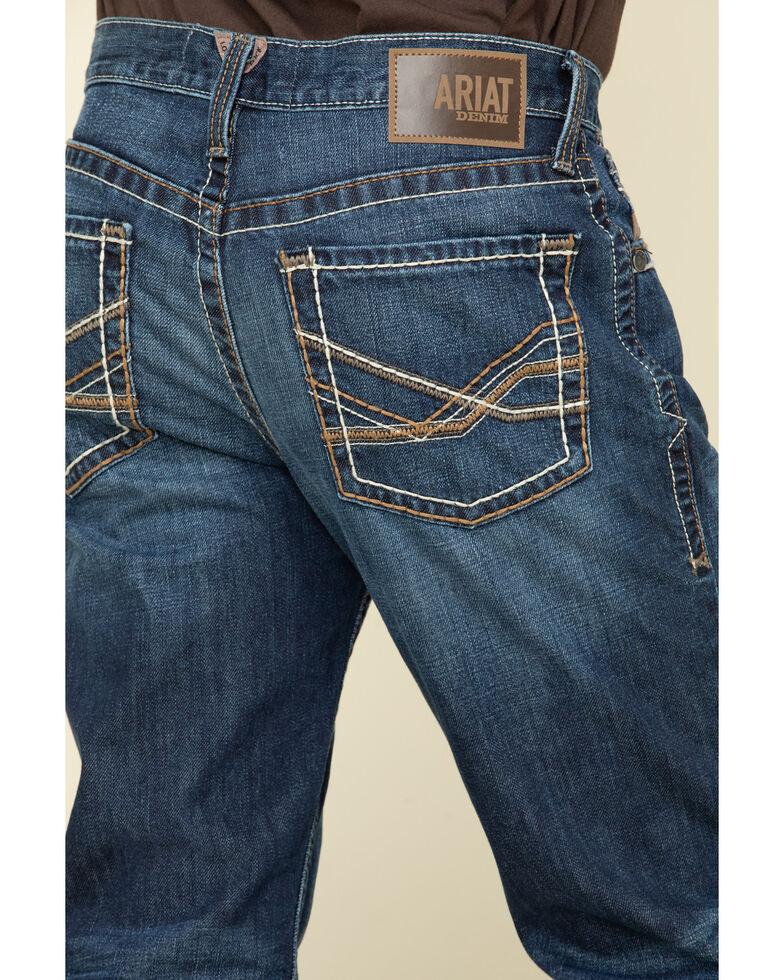 Ariat Men's M2 Prescott Stackable Relaxed Boot Jeans - Big , Blue, hi-res