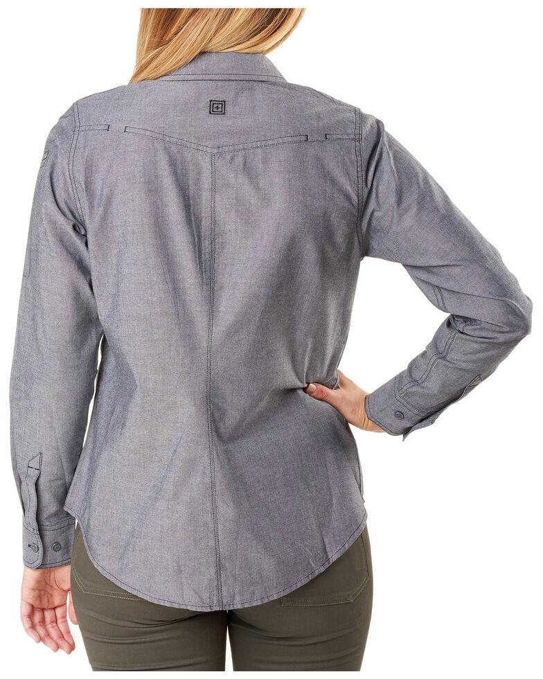 5.11 Tactical Women's Athena Long Sleeve Work Shirt , , hi-res