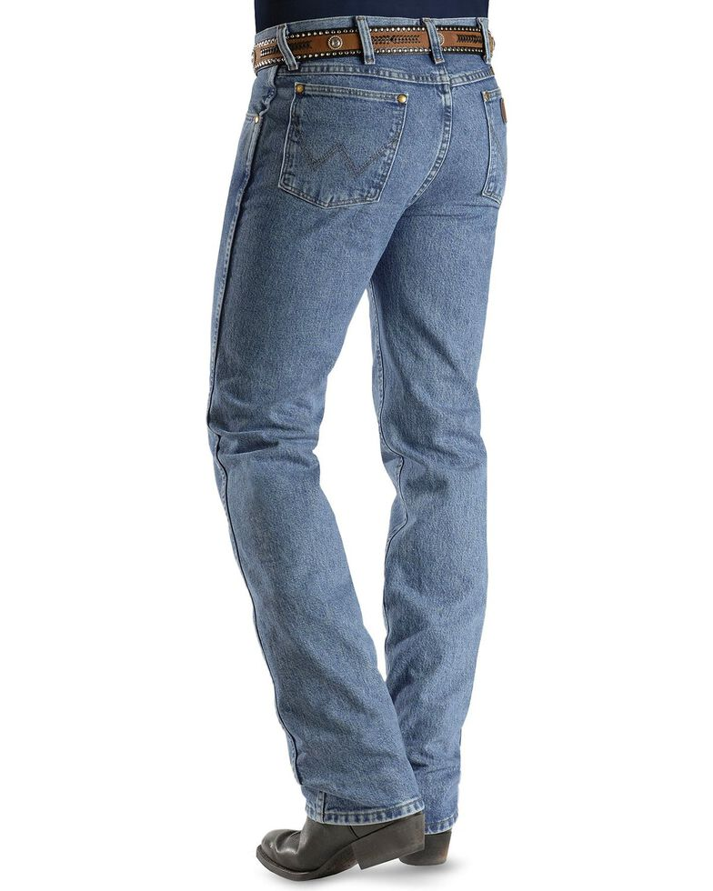 Wrangler Jeans Cowboy Cut 36mwz Slim Fit Jeans Stonewash