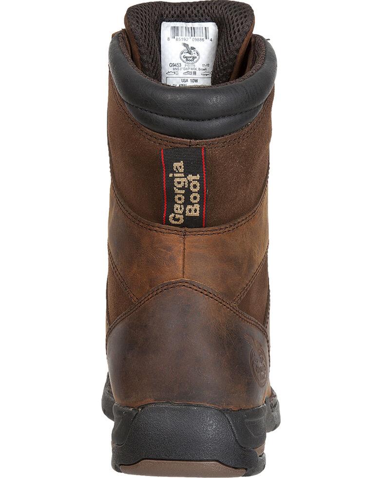 Georgia Men's Waterproof Athens Work Boots, Brown, hi-res