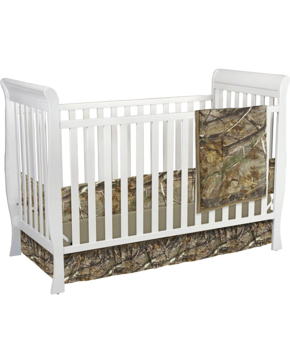 Carstens Realtree AP Camo Crib Set - 3 Piece , Green, hi-res