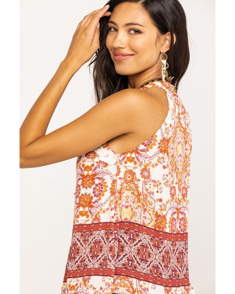 Coco + Jaimeson Women's Ivory Lace Boho Top, Beige/khaki, hi-res