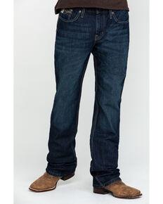 Cinch Men's Ian Med Rinse Slim Bootcut Jeans , Indigo, hi-res