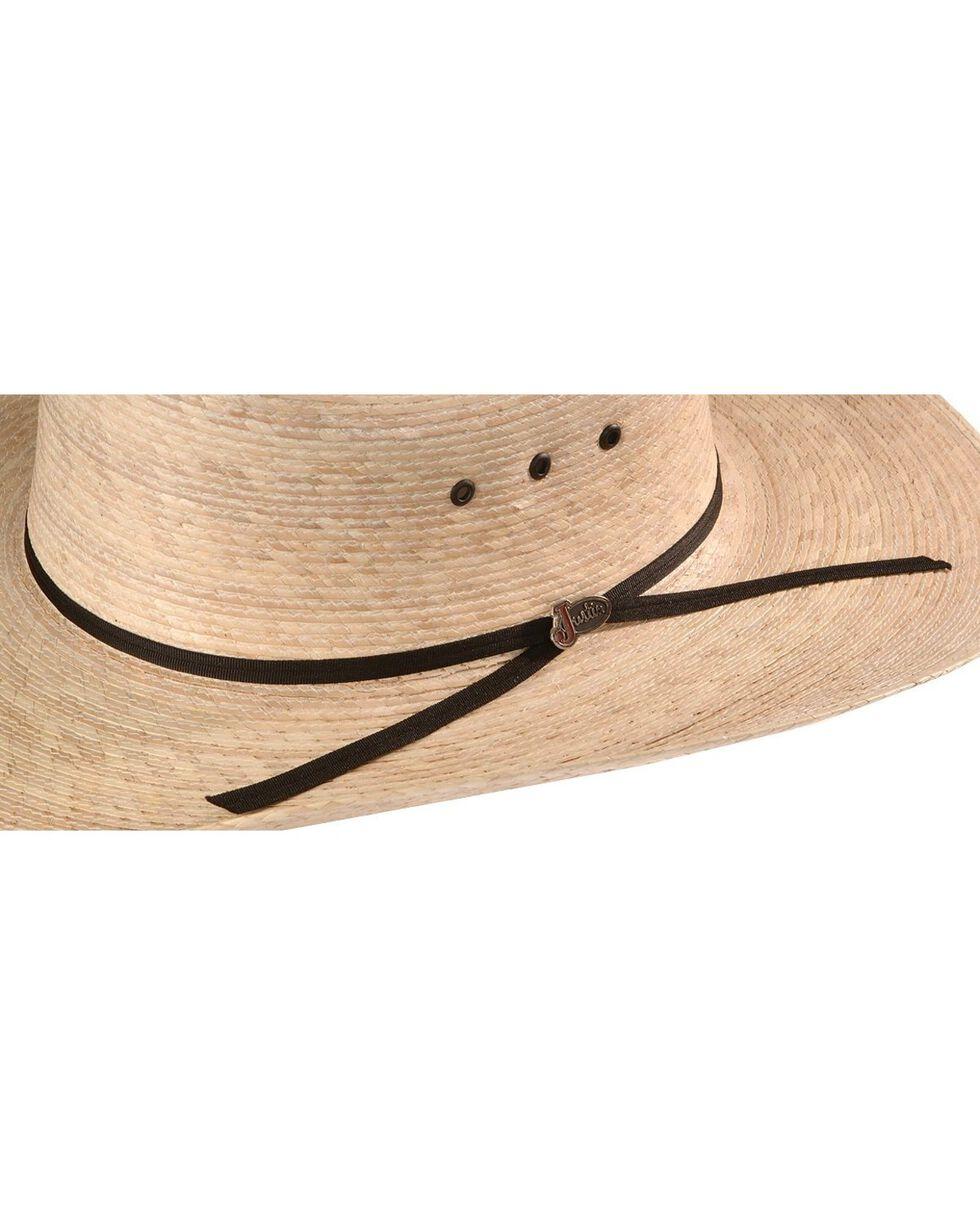 Justin 20X Brush Hog Palm Straw Western Hat, Natural, hi-res