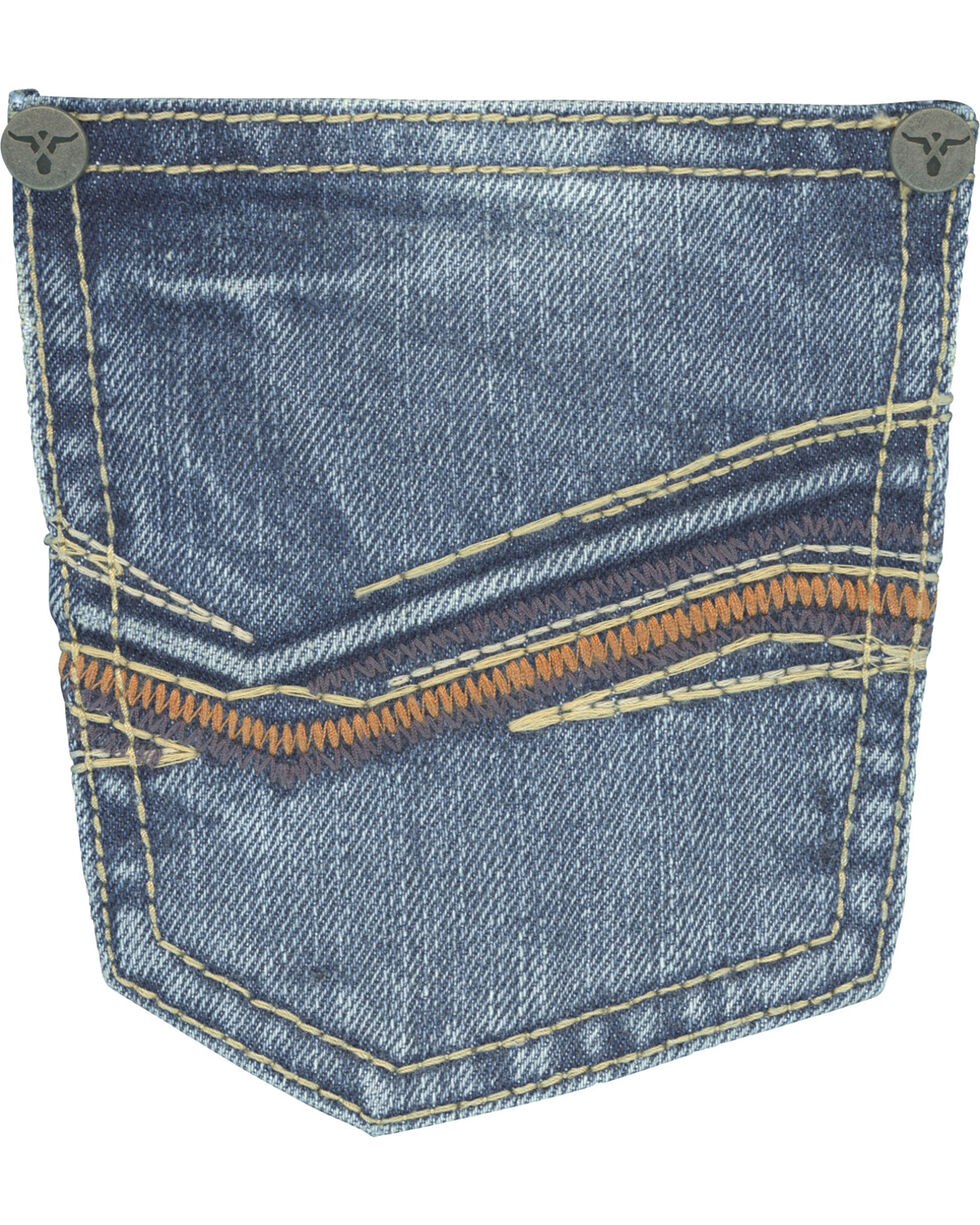 Wrangler Boys' (8-18) 20X No.33 Relaxed Fit Jeans - Husky, Indigo, hi-res
