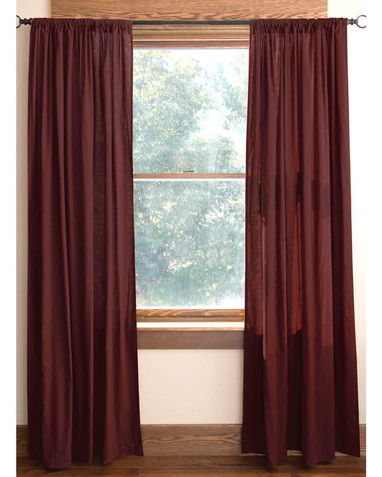 Carstens Southwest Harvest Cotton Lined Drapes, Blue, hi-res