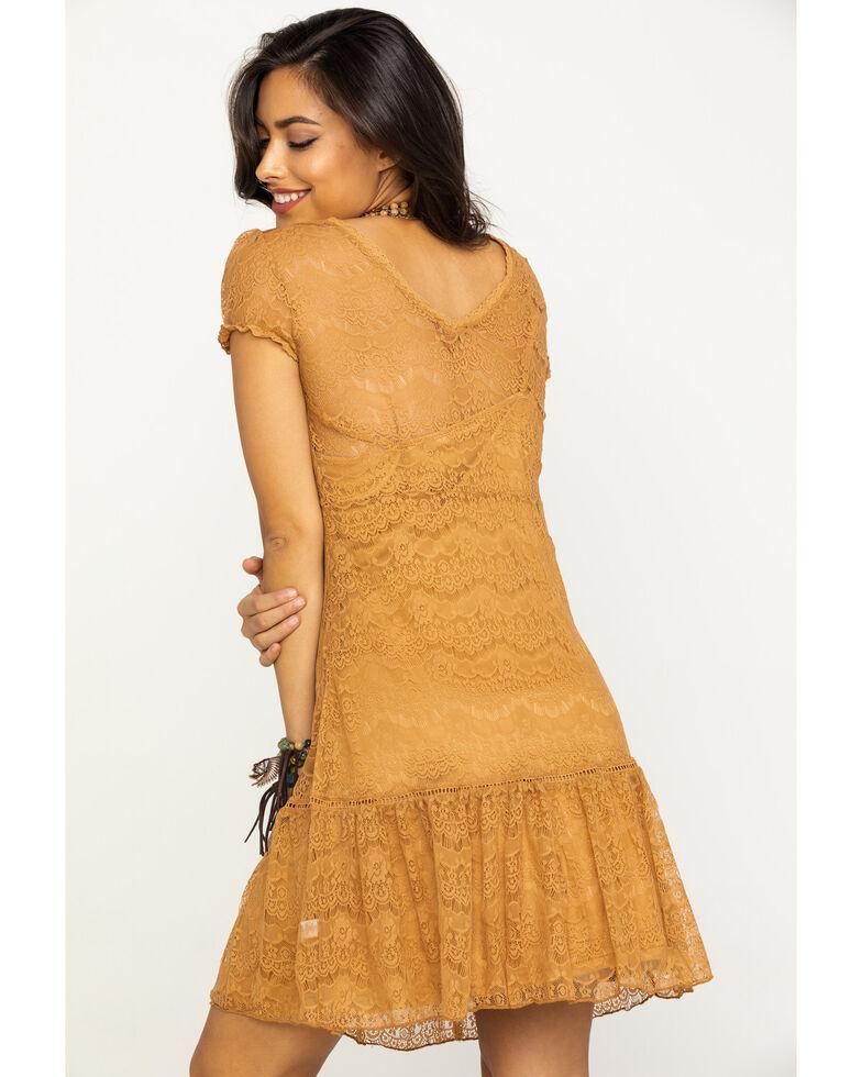 Honey Creek by Scully Women's Butterscotch Lace Dress, Honey, hi-res
