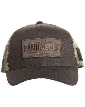Panhandle Men's Camo Print Mesh Cap, Camouflage, hi-res