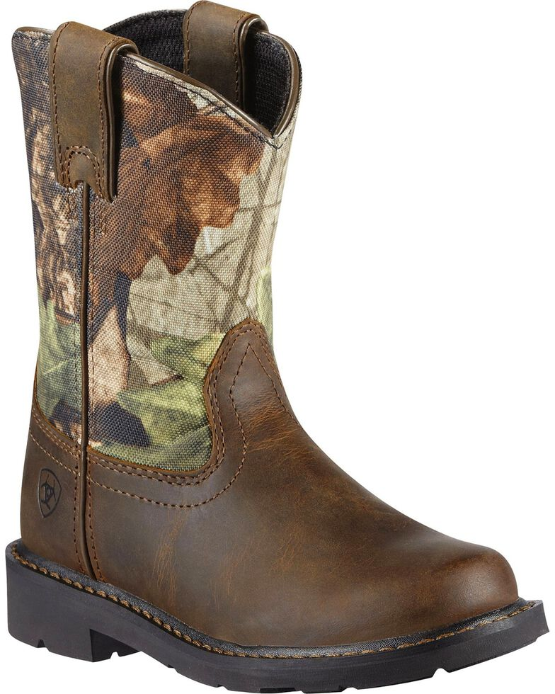 9fc0bfd0cd3 Ariat Boys' Sierra Distressed Cowboy Boots