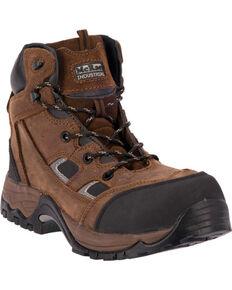 """McRae Men's 6"""" Lace-Up CT Puncture Resistant Work Boots, Crazyhorse, hi-res"""