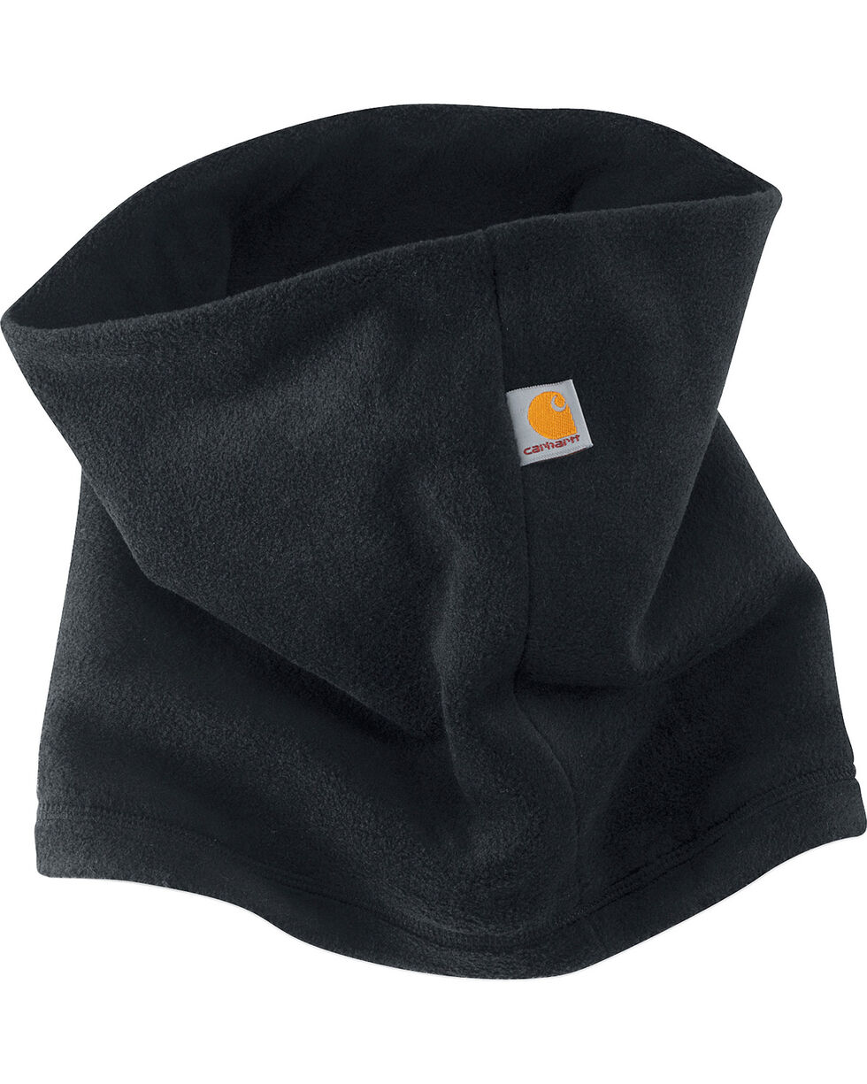 Carhartt Fleece Neck Gaiter, Black, hi-res