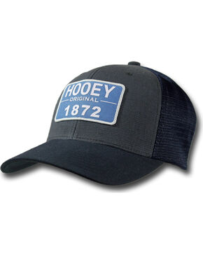 Hooey Men's Original Trucker Cap, Navy, hi-res