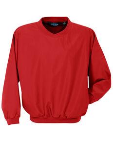Tri-Mountain Men's Red Windstar Microfiber Work Wind Jacket - Big , Red, hi-res