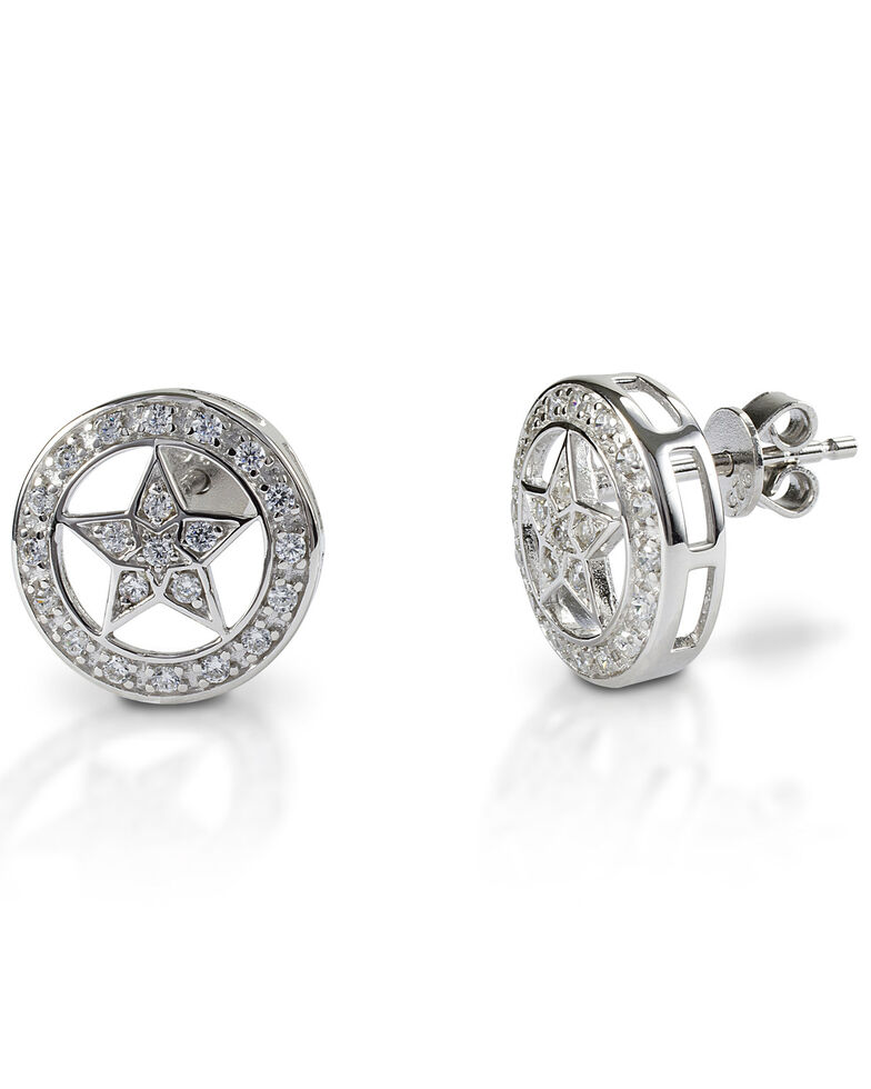 Kelly Herd Women's Small Star Earrings , Silver, hi-res