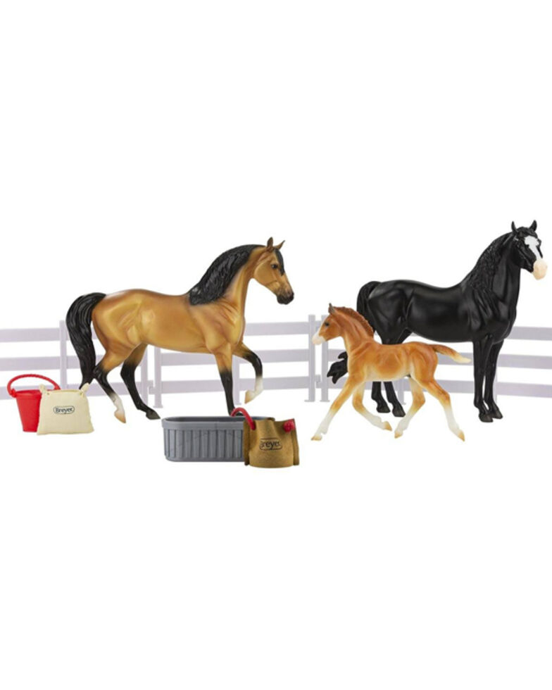 Breyer Kids' Spanish Mustang Family Toy Set, No Color, hi-res