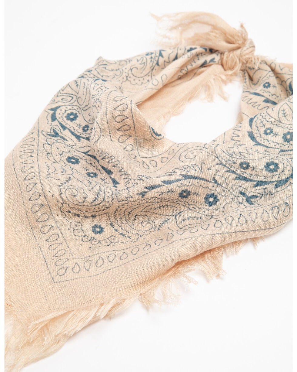 Idyllwind Women's Light Taupe Summer Dreamin' Neck Scarf , Taupe, hi-res