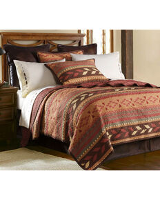 HiEnd Accents 3-Piece Broken Arrow Full/Queen Quilt Set, Multi, hi-res
