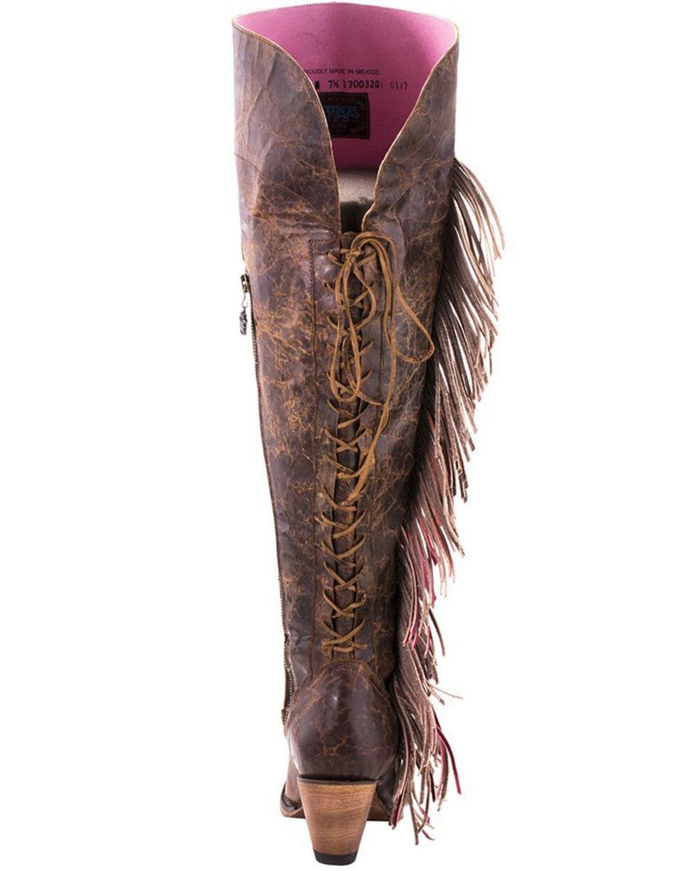 Junk Gypsy by Lane Women's Spirit Animal Tall Boots - Snip Toe , Brown, hi-res