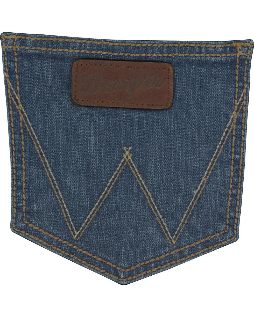 Wrangler Retro Men's Huntsville Slim Fit Straight Leg Jeans, Blue, hi-res