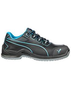Puma Women's Niobe Work Shoes - Steel Toe, Green, hi-res