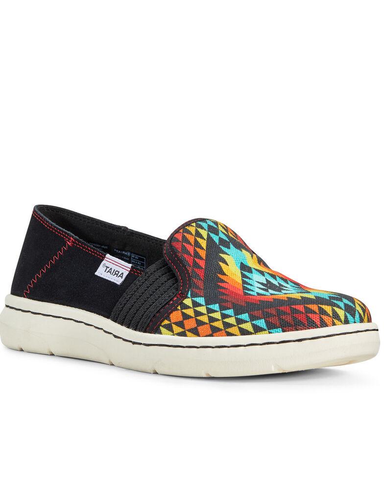 Ariat Women's Ryder Rainbow Aztec Slip-On Shoes, , hi-res
