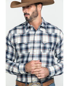 Ariat Men's Jacksonville Retro Plaid Long Sleeve Western Shirt , Multi, hi-res