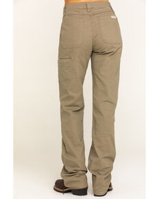 Wrangler Riggs Women's Bark Advanced Comfort Work Pants , Bark, hi-res