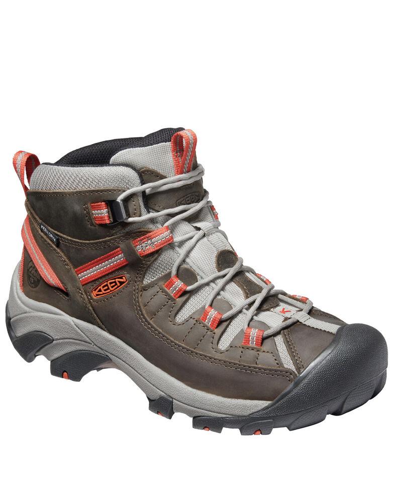 Keen Men's Targhee II Waterproof Work Boots - Soft Toe, Grey, hi-res