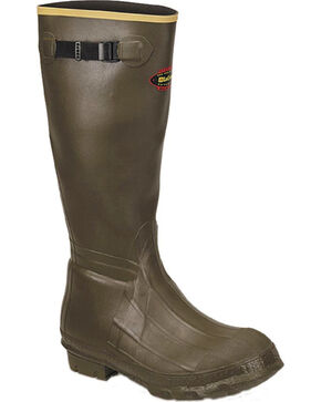 LaCrosse Men's Burly Classic Hunting Boots, Green, hi-res