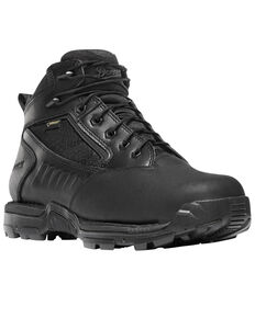 "Danner Men's Black Striker Bolt 4.5"" Duty Boots - Round Toe , Black, hi-res"