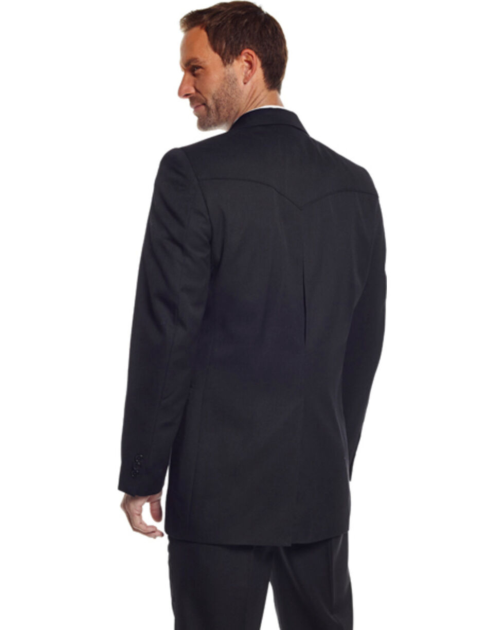Circle S Men's Black Abilene Sport Coat - Big, Black, hi-res