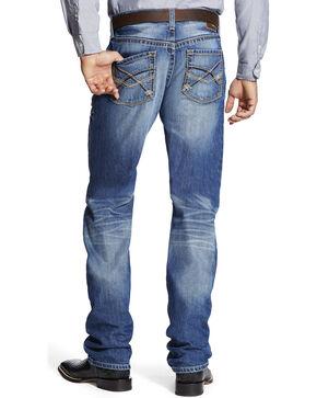 Ariat Men's Medium Wash Boot Cut Jeans, Indigo, hi-res