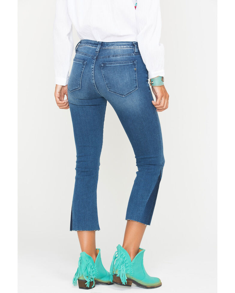 Miss Me Women's Get On My Level Mid-Rise Crop Bootcut Jeans , , hi-res