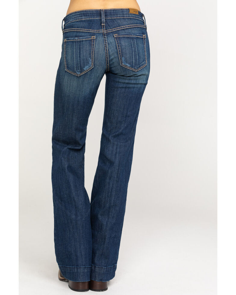 Ariat Women's Lucy Mid-Rise Trousers , Blue, hi-res