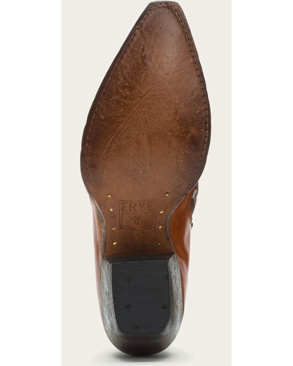 Frye Women's Cognac Sacha Moto Shooties - Pointed Toe , Cognac, hi-res