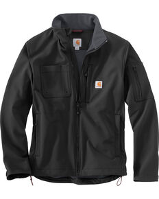 Carhartt Men's Roughcut Work Jacket - Big & Tall, Black, hi-res