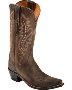0fd3aa0b8f4 Lucchese Women s Cassidy Snip Toe Western Boots